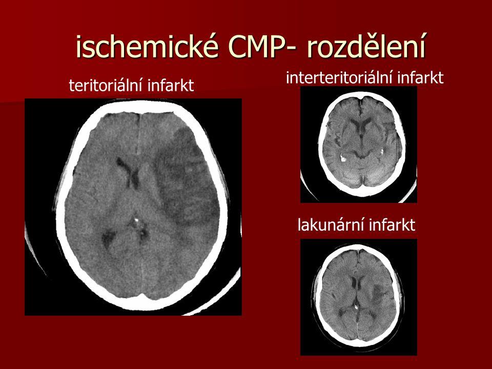 Kontraindikace TL léčby - 1 malý (NIHSS méně než 4) nebo rychle se zlepšující neurol.