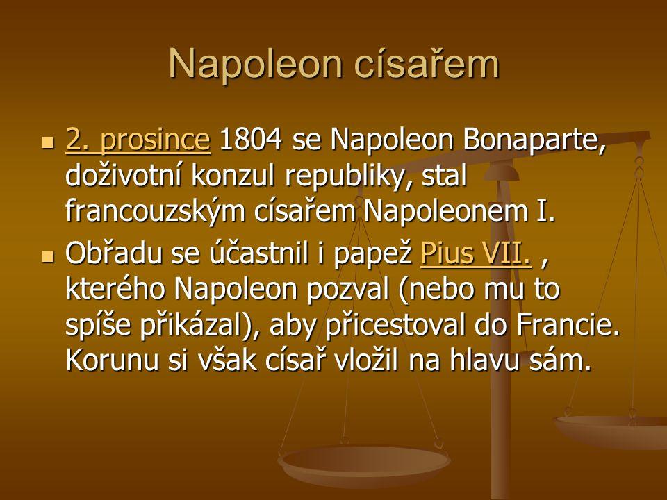 Napoleon císařem 2.