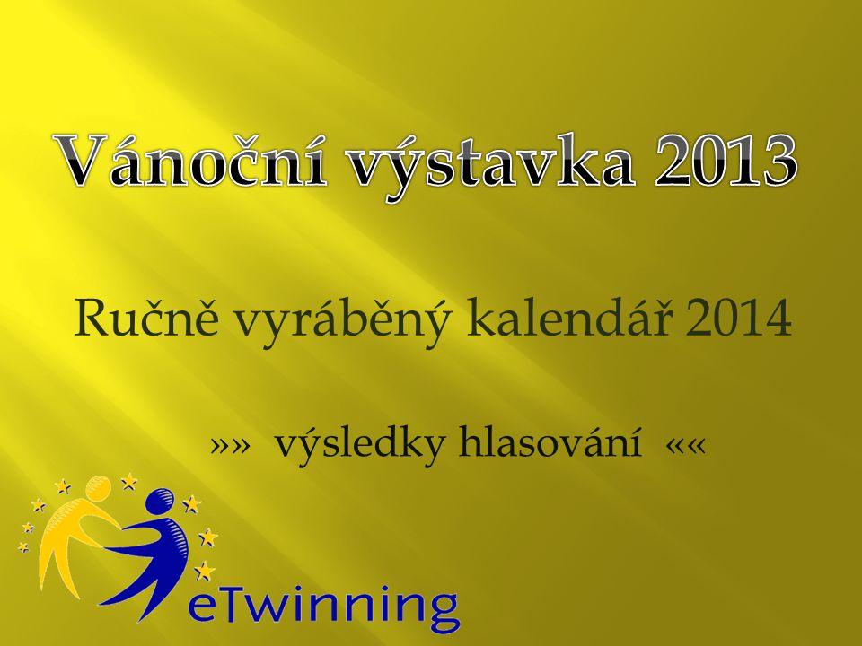 Ručně vyráběný kalendář 2014 »» výsledky hlasování ««