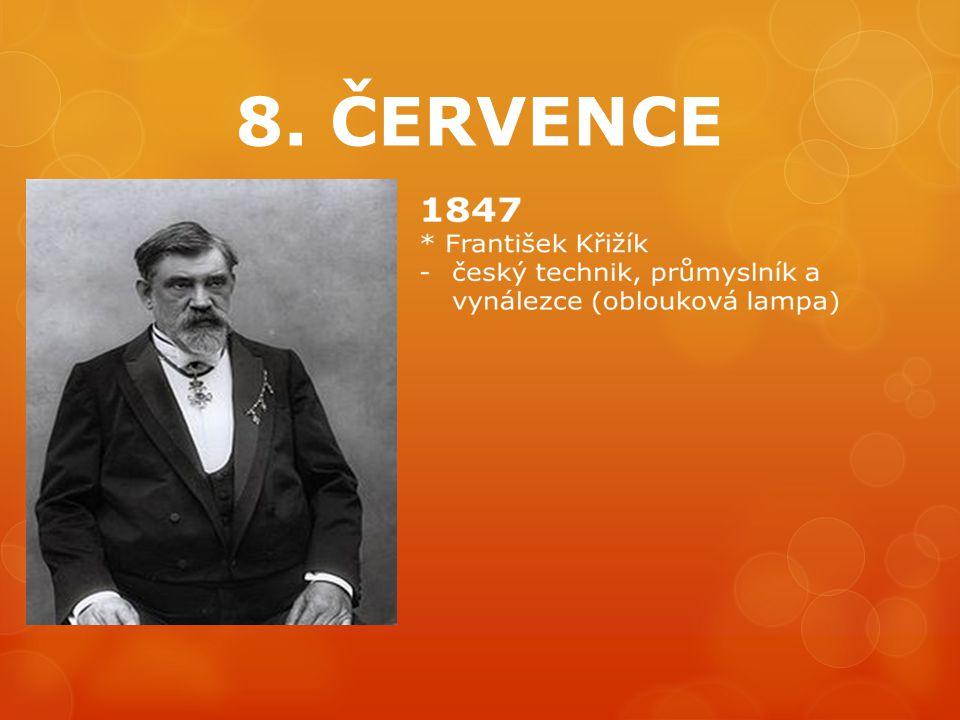 8. ČERVENCE