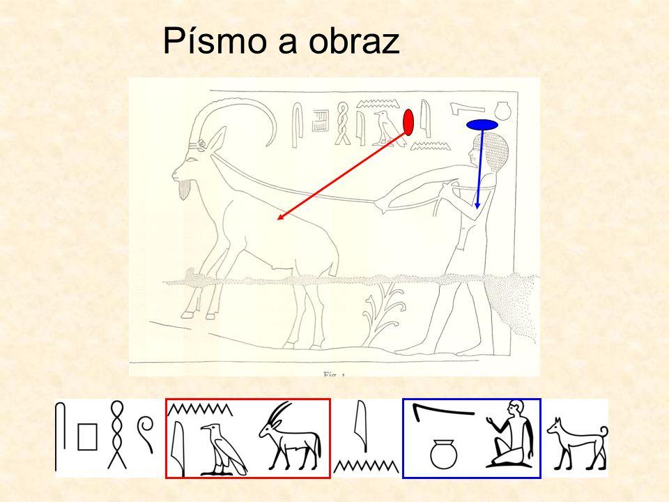 """Hieroglyfický """"krasopis"""" 1. Možné směry hieroglyfického písma 2. Ideální čtverec"""