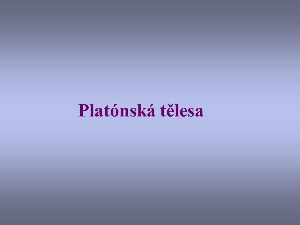 Platónská tělesa