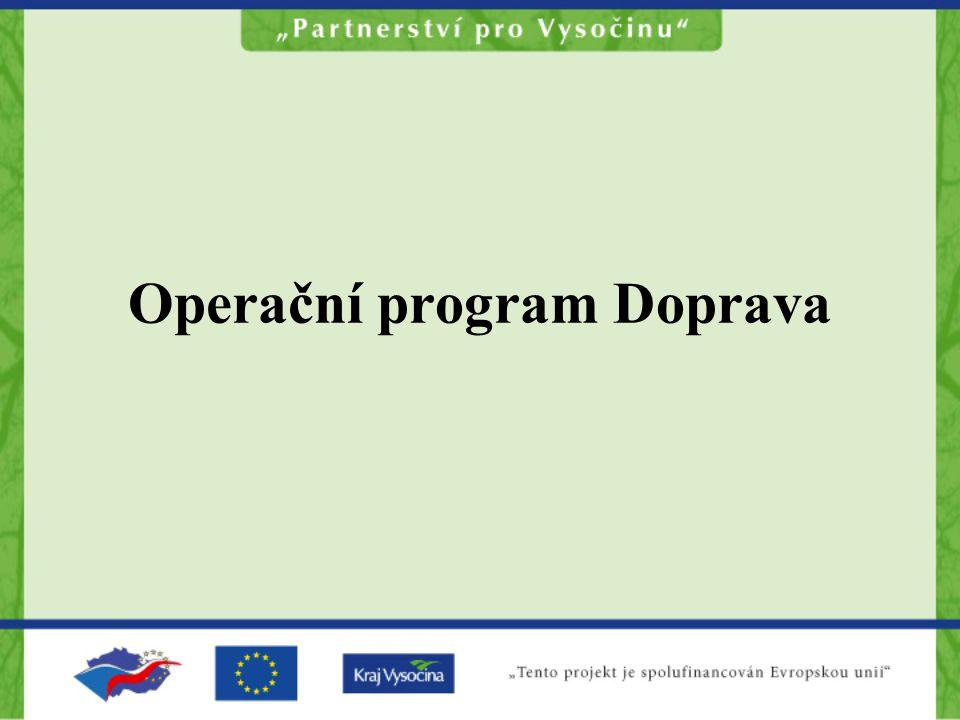 Operační program Doprava