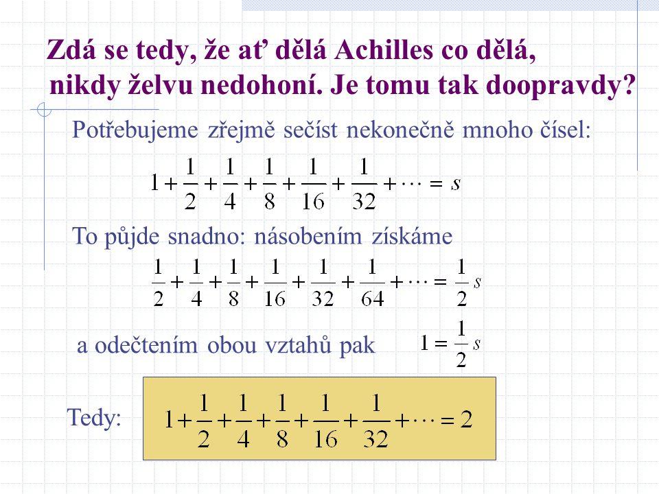Představa kardinálních čísel U (univerzum, tj.