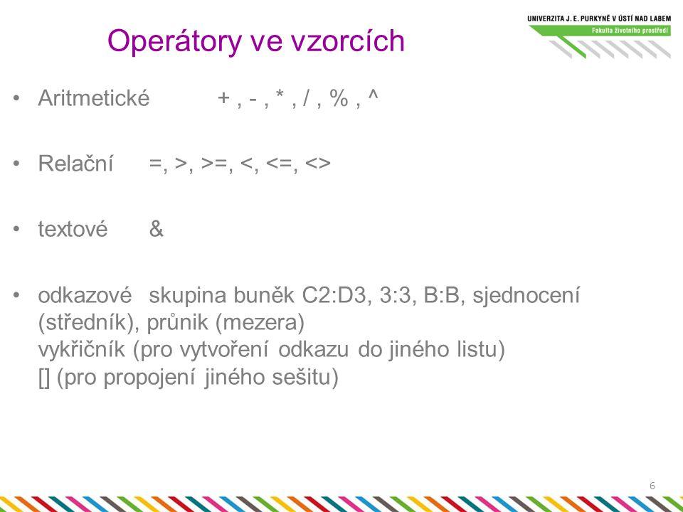 Priorita operátorů 7