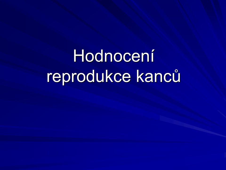 Hodnocení reprodukce kanců