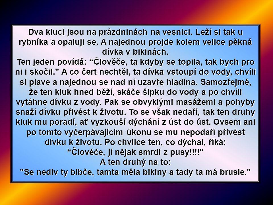 Jaké zvuky se nejčastěji ozývaly za prezidentování Václava Havla na Pražském Hradě?...vibrátor a respirátor...
