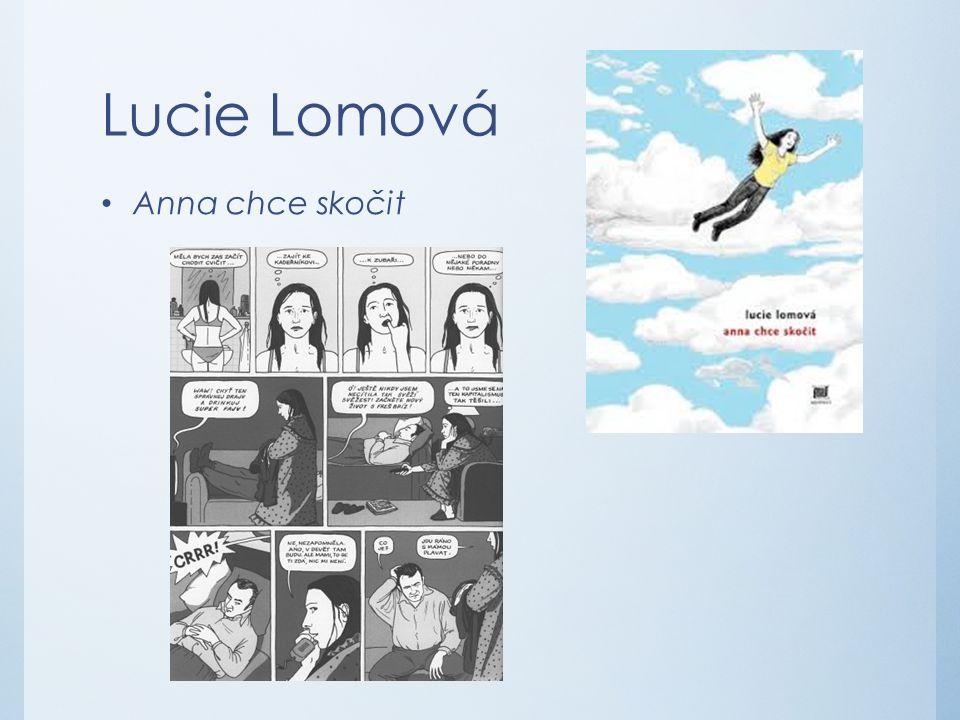 Lucie Lomová Anna chce skočit