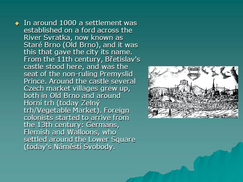  Druhá světová válka způsobila Brnu značné škody.