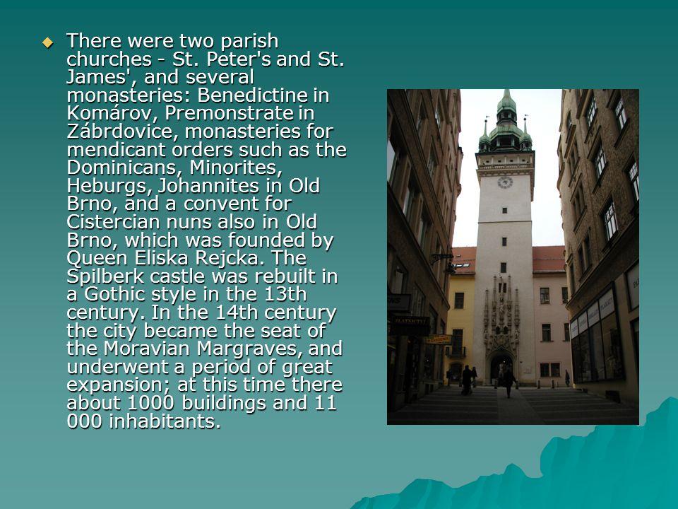  Se dvěma farními kostely - sv.Petra a sv.
