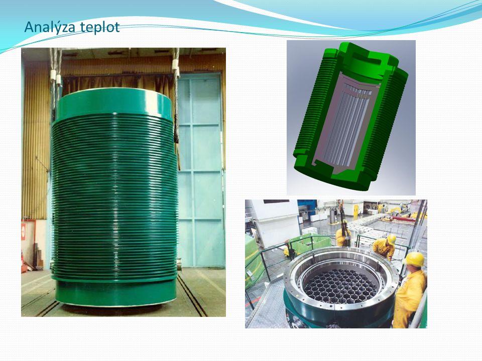 Některé parametry kontejneru CASTOR Hmotnost prázdného k.94,7 t Hmotnost naplněného k.116,3 t Výška kontejneru4080 mm Průměr kontejneru2660 mm Max teplota povrchu85 °C Min.