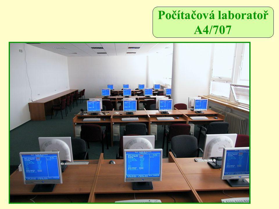 Počítačová laboratoř A4/707