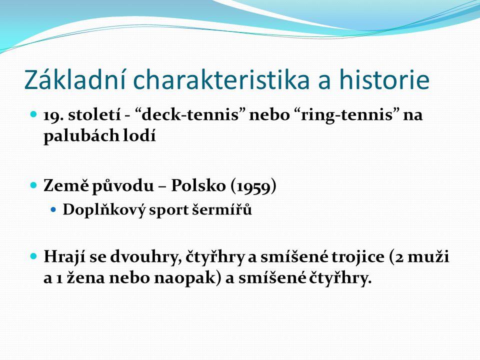 Základní charakteristika a historie 19.