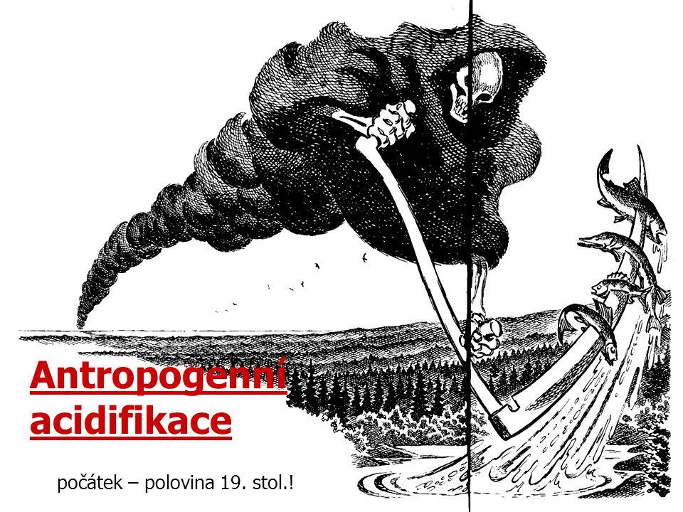Dlouhodobé změny alkalinity (Alk), koncentrace síranu (SO 4 ), celkového anorganického dusíku (TIN = NH 4 + + NO 3 - ) a pH v Ľadovém plese, Dlugem Stawu a Starolesnianském plese reprezentujícím neacidifikovaná, acidifikovaná a silně acidifikovaná jezera.