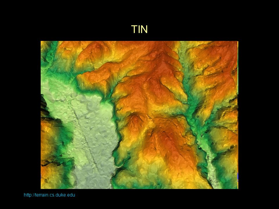 http://terrain.cs.duke.edu TIN