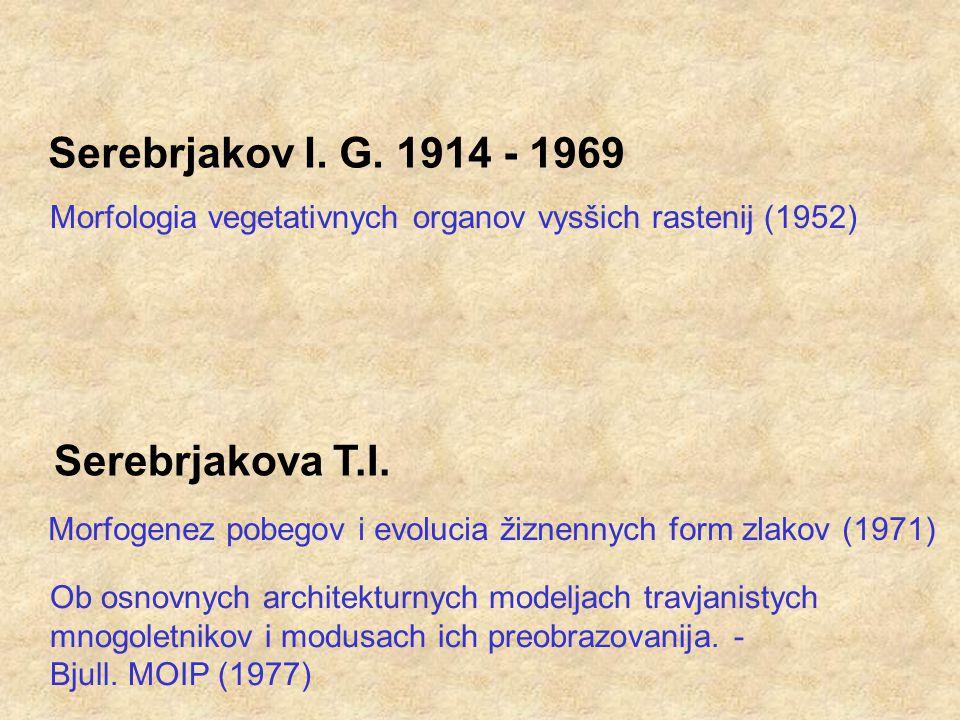 Serebrjakov I. G.