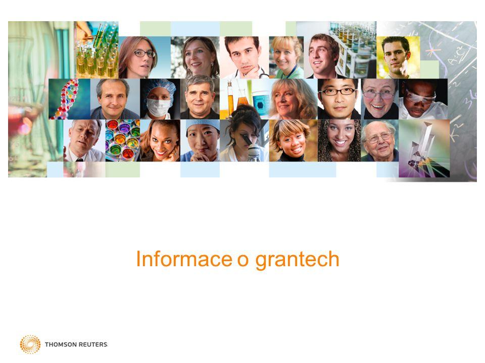 Informace o grantech