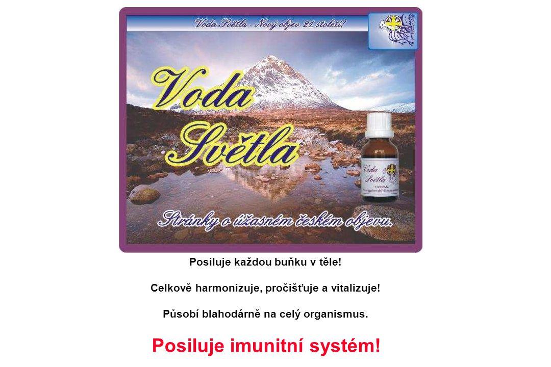 Posiluje každou buňku v těle! Celkově harmonizuje, pročišťuje a vitalizuje! Působí blahodárně na celý organismus. Posiluje imunitní systém!