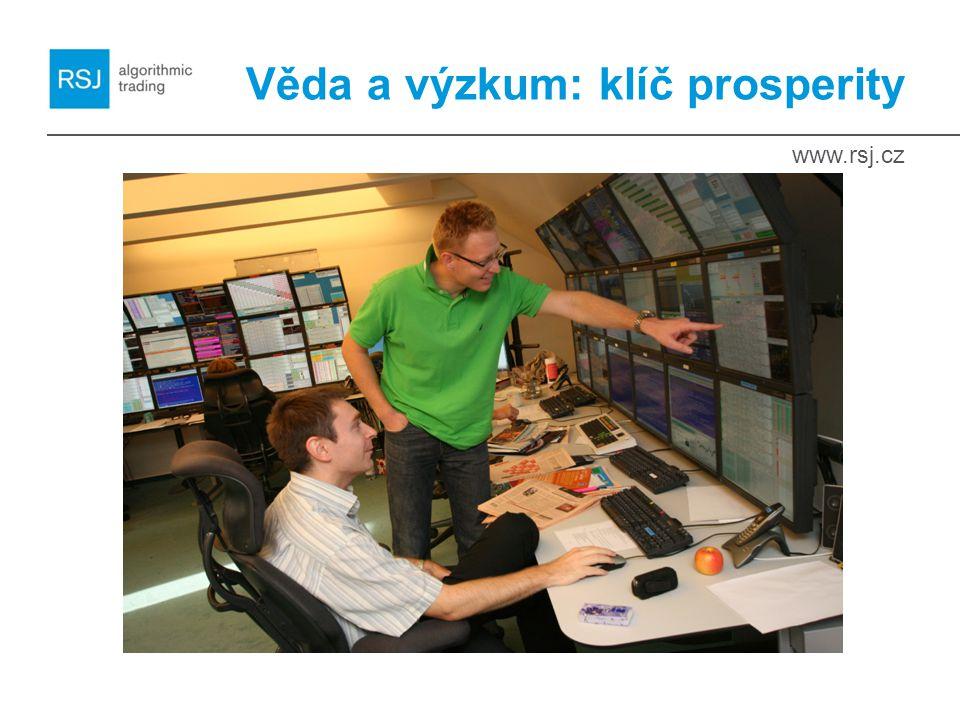 www.rsj.cz Věda a výzkum: klíč prosperity
