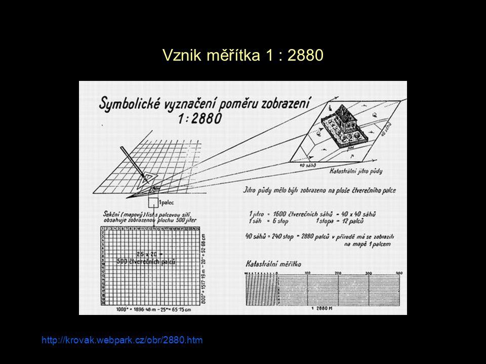 Brůna et Křováková 2005 Stabilní katastr – mapový operát