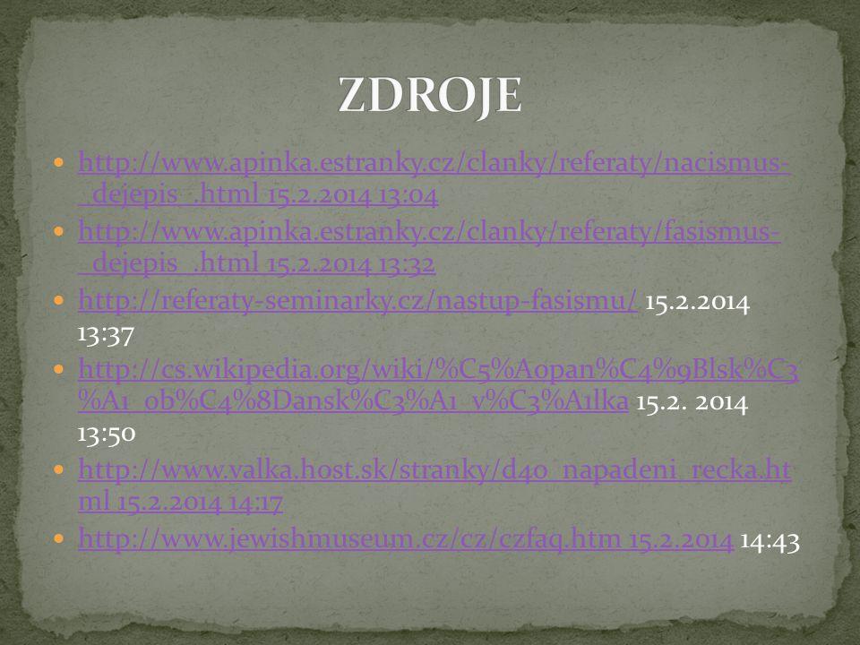 http://www.apinka.estranky.cz/clanky/referaty/nacismus- _dejepis_.html 15.2.2014 13:04 http://www.apinka.estranky.cz/clanky/referaty/nacismus- _dejepi