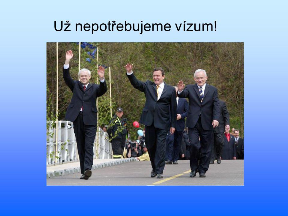 Už nepotřebujeme vízum!