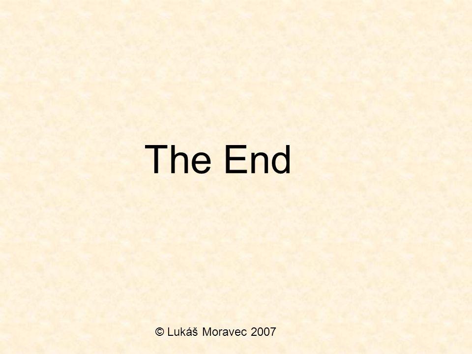 The End © Lukáš Moravec 2007