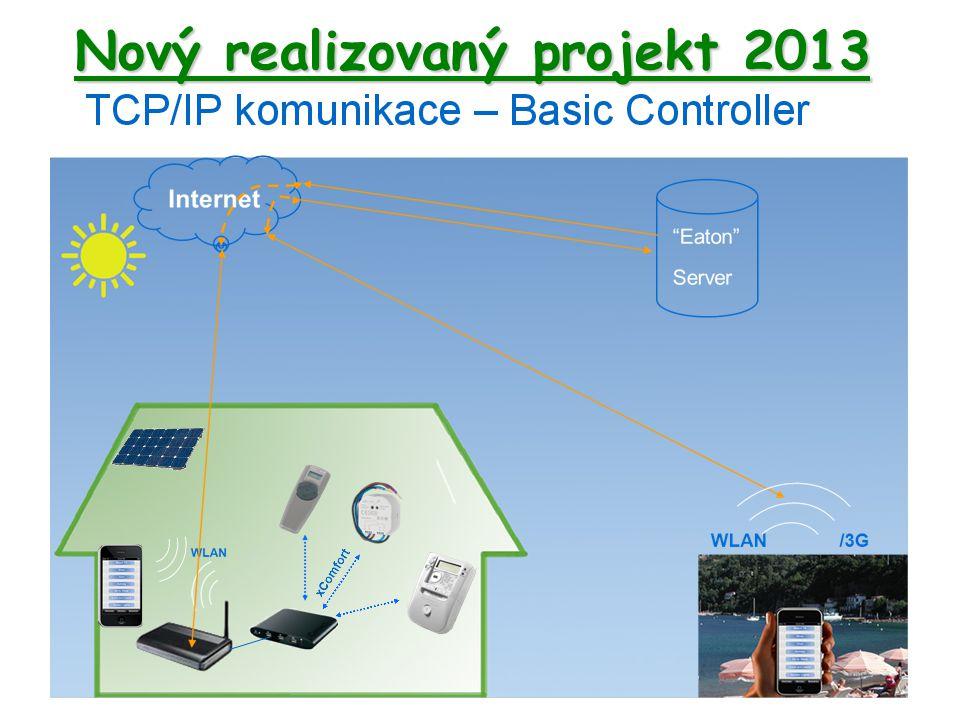 Nový realizovaný projekt 2013