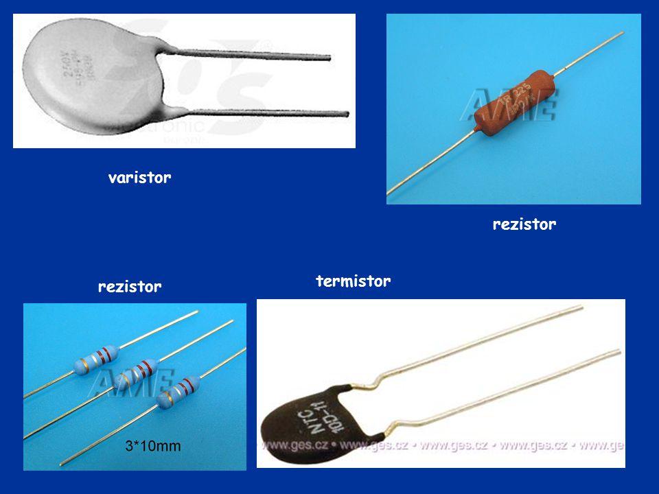 varistor rezistor termistor rezistor