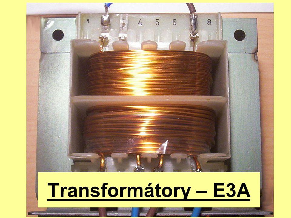 Ideální transformátor I 21 U 21 U1U1 I1I1  U i1 U i21 Dané náhradní schéma popírá Kirchhoffovy zákony … I 1  I 2, U i1  U i2 a U 1  U 2 (s výjimkou transformátoru s převodem 1).