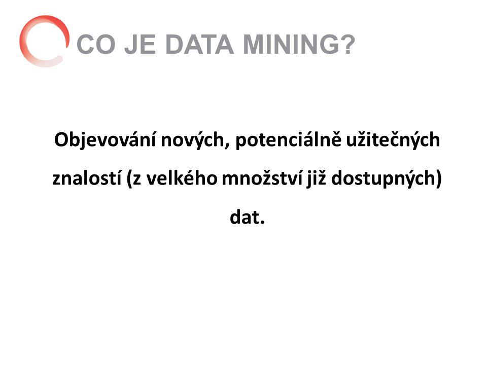 Jak využít data mining? Segmentace