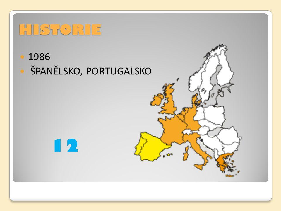 HISTORIE 1986 ŠPANĚLSKO, PORTUGALSKO 12