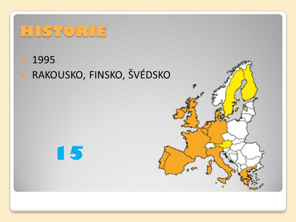 HISTORIE 1995 RAKOUSKO, FINSKO, ŠVÉDSKO 15