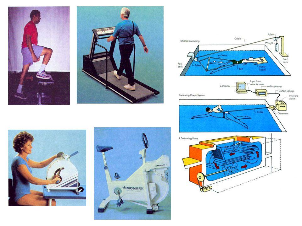 VÝKONNOST VÝKON VÝKON [W] nebo [W/kg] - určuje se při ergometrii s použitím zdroje zatížení VÝDEJ ENERGIE VÝDEJ ENERGIE [J], [MET], ČAS ČAS - vyjadřuje dobu po kterou osoba vydrží pracovat, nebo kterou potřebovala ke splnění určitého fyzického výkonu RYCHLOST RYCHLOST [m/s] PRACOVNÍ KAPACITA PRACOVNÍ KAPACITA - výkon dosažený bezprostředně před výskytem zřetelných elektrokardiografických nebo jiných příznaků, které by mohly být důvodem k přerušení zátěžového testu.
