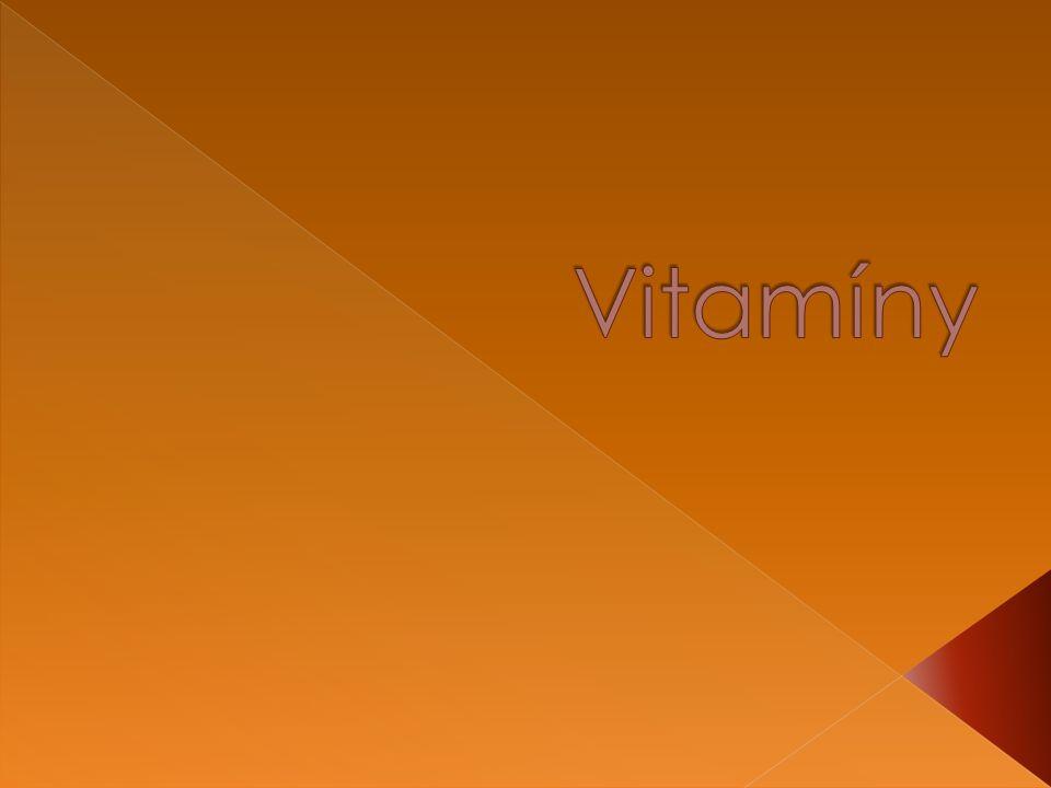  Jsou to látky převážně rostlinného původu, které spolu s bílkovinami, tuky a sacharidy patří k základním složkám lidské potravy.