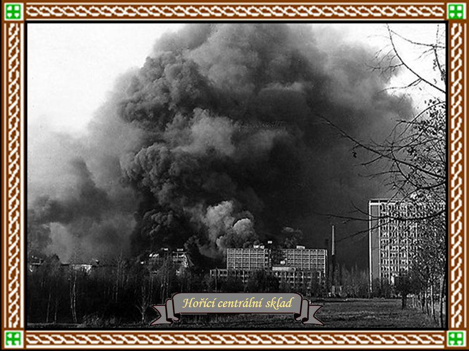 Letná – rok 1943Zasněžený Zlín - roku 1943