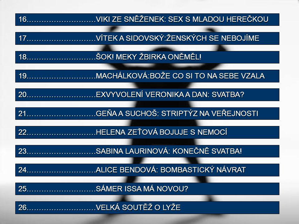 Sabina Laurinová: Konečně svatba?.