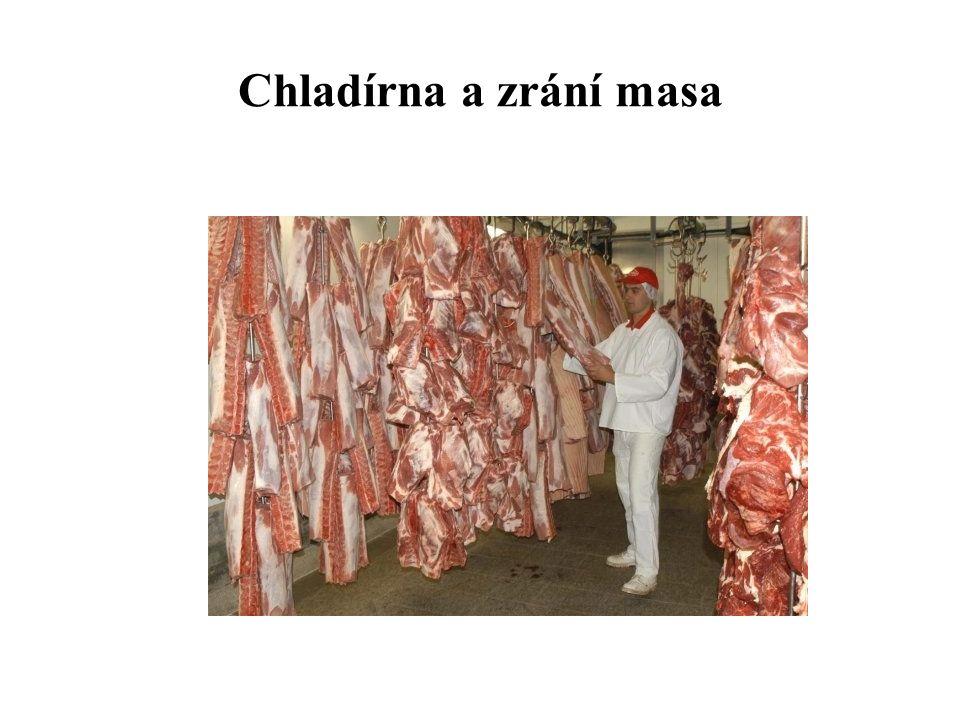 Chladírna a zrání masa