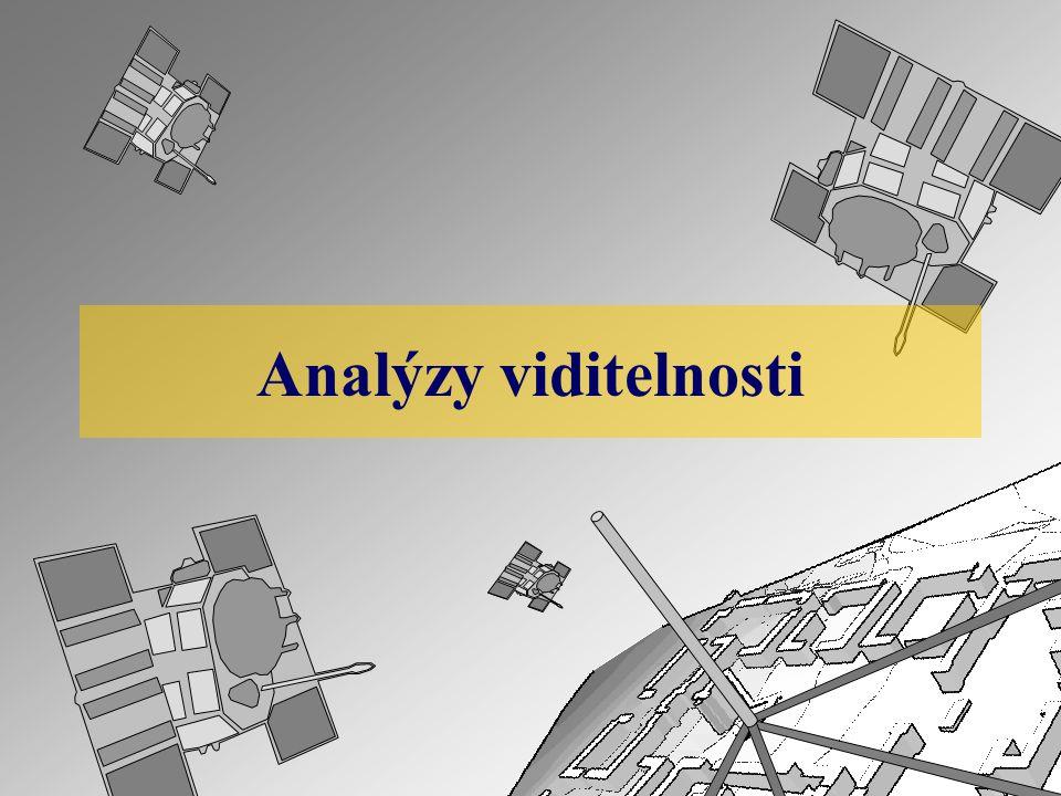 Analýzy viditelnosti