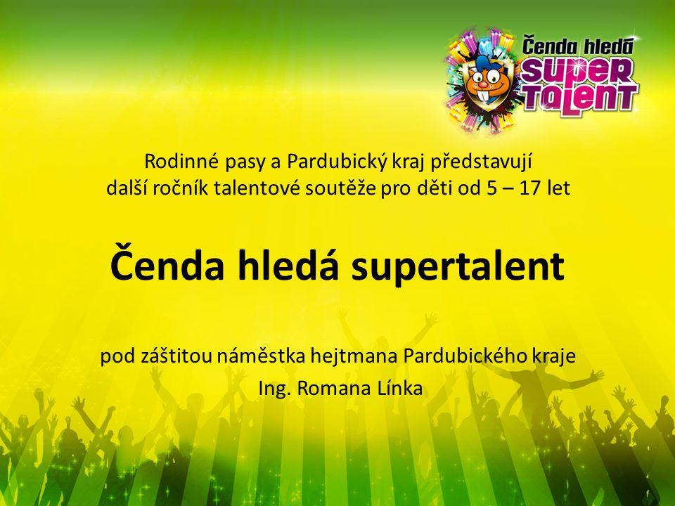 Soutěž Ojedinělá akce pro děti a dětské skupiny Multitalentová soutěž zpěv tanec hudební nástroj sportovní/akrobatické vystoupení originální čísla apod.