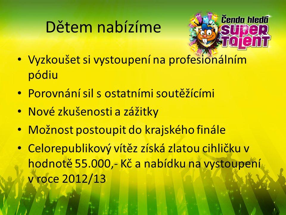 Statistika přihlášených dětí/souborů 2011