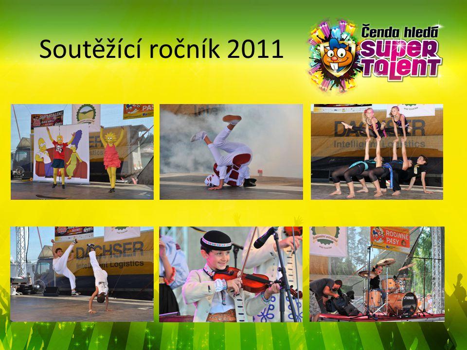 Ročník 2011 Předseda poroty a patron soutěže Zbyněk Drda s veverčákem Čendou.