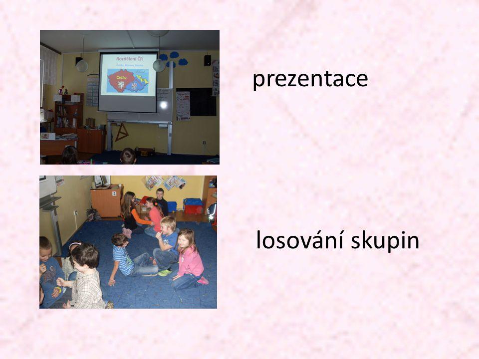 prezentace losování skupin