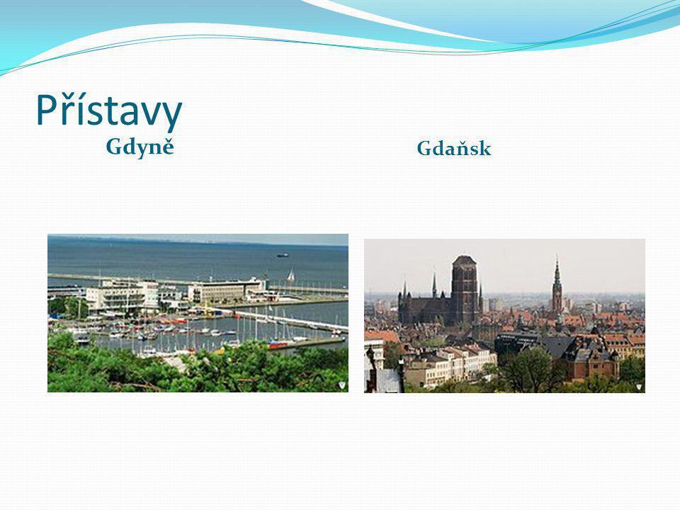 Přístavy Gdyně Gdaňsk