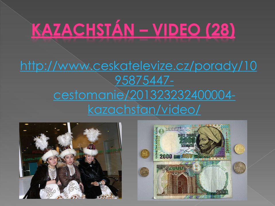 http://www.ceskatelevize.cz/porady/10 95875447- cestomanie/201323232400004- kazachstan/video/