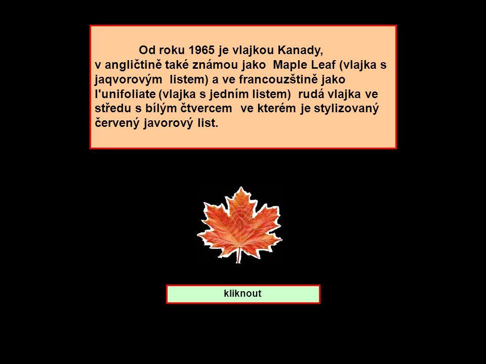 Javorový list. Které zemi patří ? Kanada Finsko Švédsko