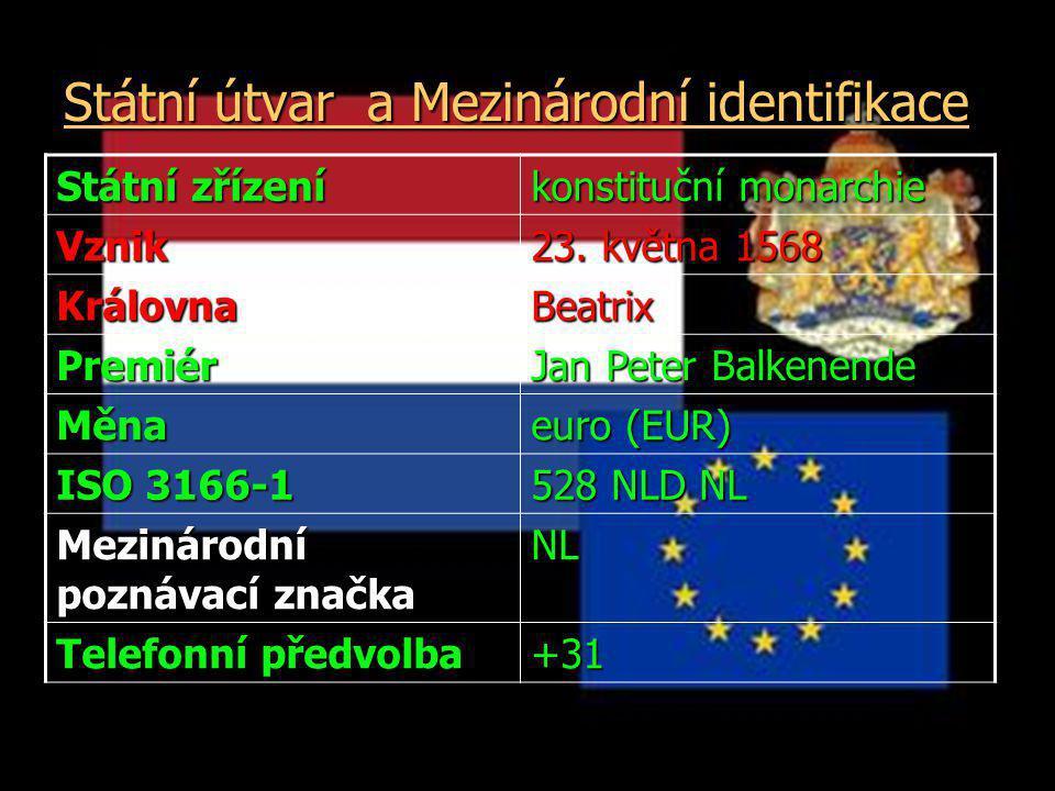 Státní útvar a Mezinárodní identifikace Státní útvar a Mezinárodní identifikace Státní zřízení konstituční monarchie Vznik 23.