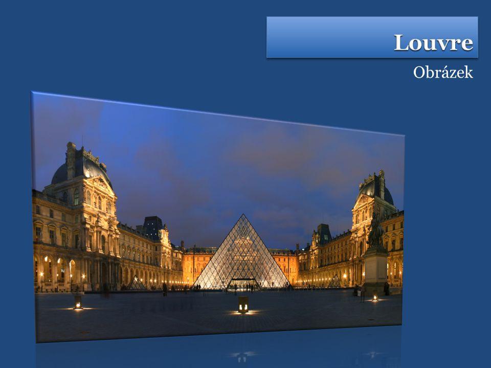  Patří k největším muzeím na světě  Sídlí v palácovém komplexu Palais de Louvre, na pravém břehu řeky Seiny  Má spoustu křídel, podílelo se na něm