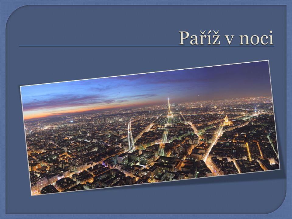 Architektura  V Paříži je ZAKÁZÁNO stavět budovy vyšší než 37 metrů, stavba vyšších budov je povolována výjimečně, proto Paříž působí jednotvárně až