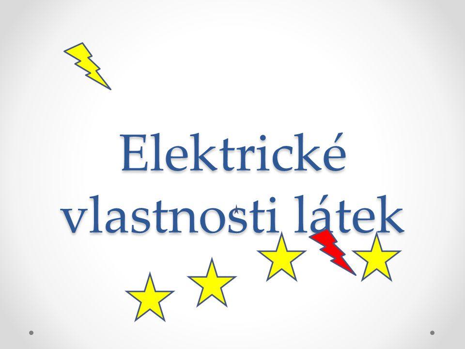 Elektrické vlastnosti látek